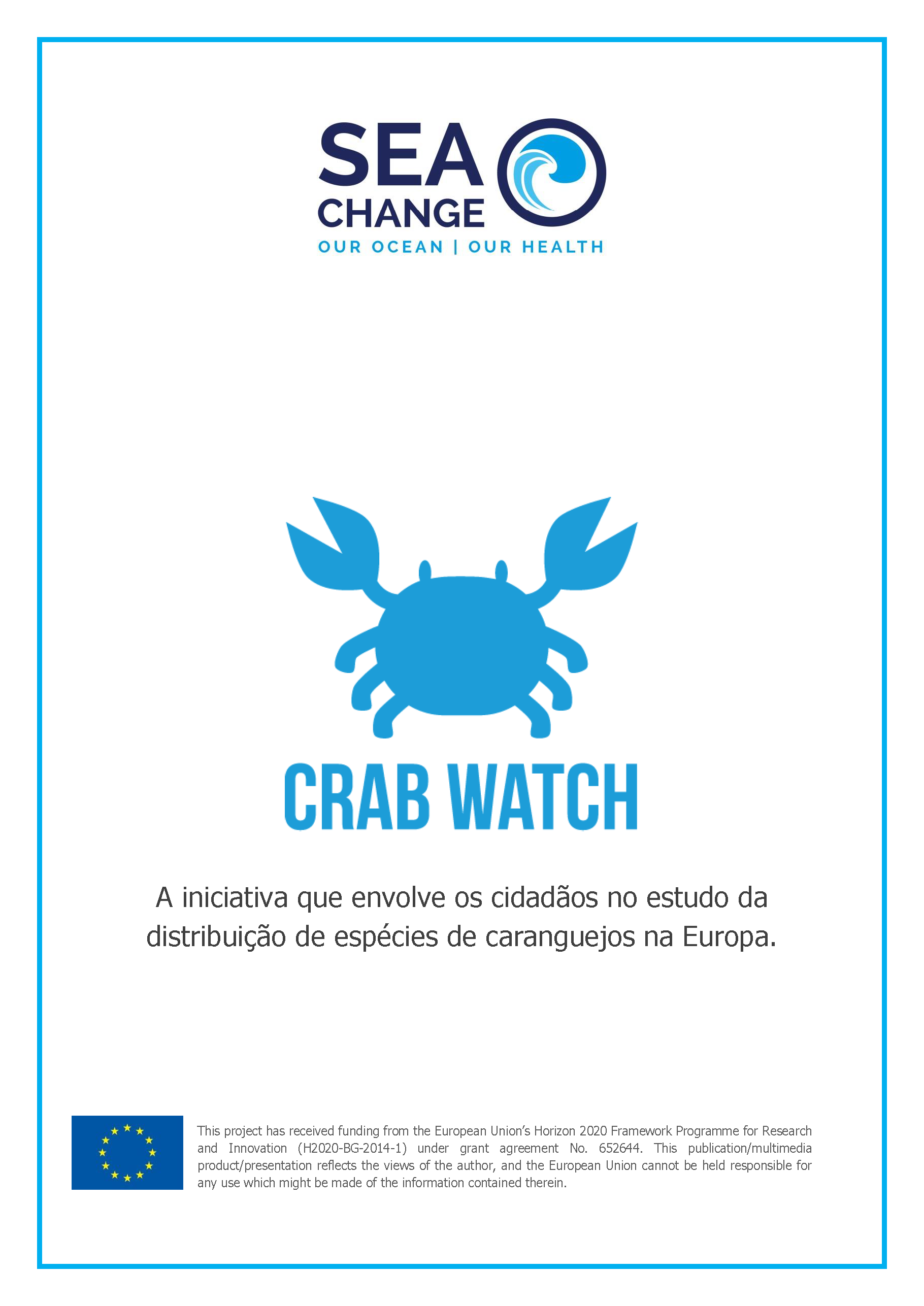 Crab watch project guide Portuguese Page 1